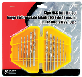 13PC HSS DRILL BIT SET