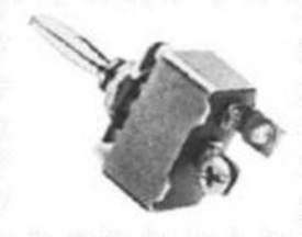 OFF-(ON) BLACK TOGGLE SWITCH