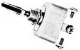 ON-OFF-ON TOGGLE SWITCH 50 AMP