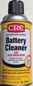 BATTERY CLNR W/ ACID INDICATOR