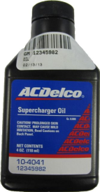 OIL,GEAR SYN 4OZ SUPERCHARGER