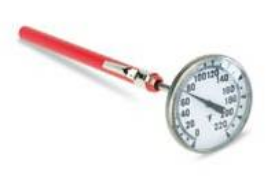 1 3/4 DIAL THERMOMETER