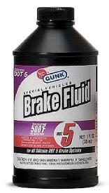 DOT 5 BRAKE FLUID