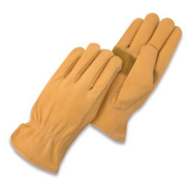 Suede keystone with thumb