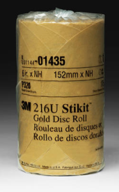 STIKIT GOLD P320 6 IN