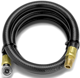 4 FT AIR HOSE WITH TIRE CHUCK