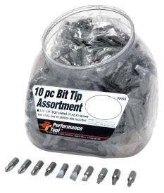 10PC BIT TIP ASSORTMENT