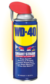 WD40 11oz W/ SMART STRAW