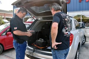 A-Line Auto Parts Tests Batteries